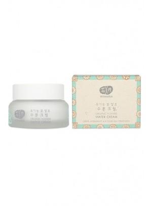 Organic Flowers Water Cream with Sacred Lotus and Natto Gum - 50 ml
