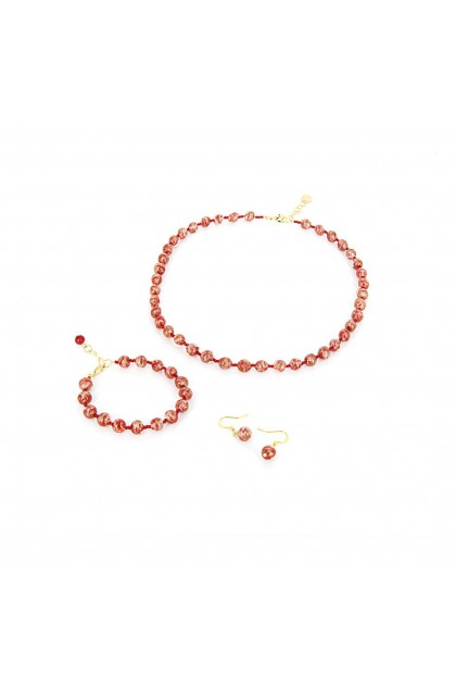 Murano Set Sommerso 8 mm