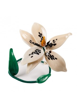 Decorative Murano Glass Lily