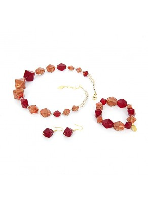 Murano Set Rovena - 3 piece
