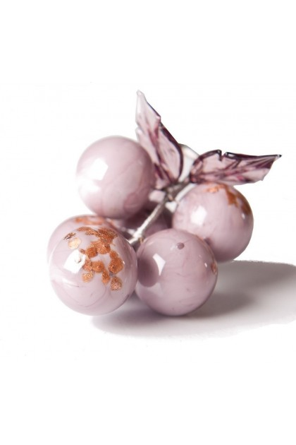 Gold-foil decorative Murano grapes