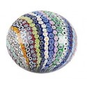Murano Paperweight with murrine strings