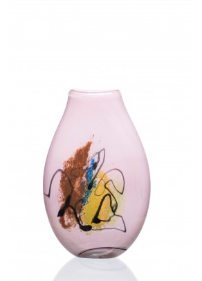 """Semblance of Happiness"" Vase"