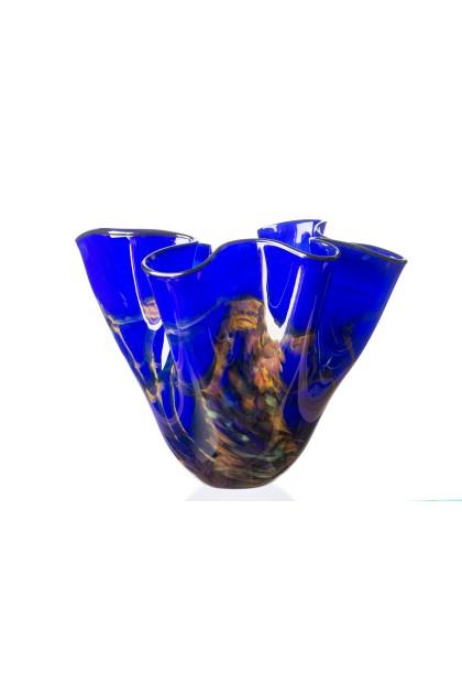 Cobalt Flare Vase