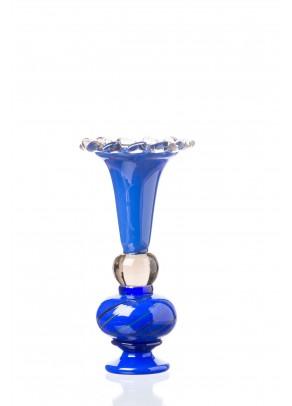 """""""Blue Joker"""" Candle holder"""