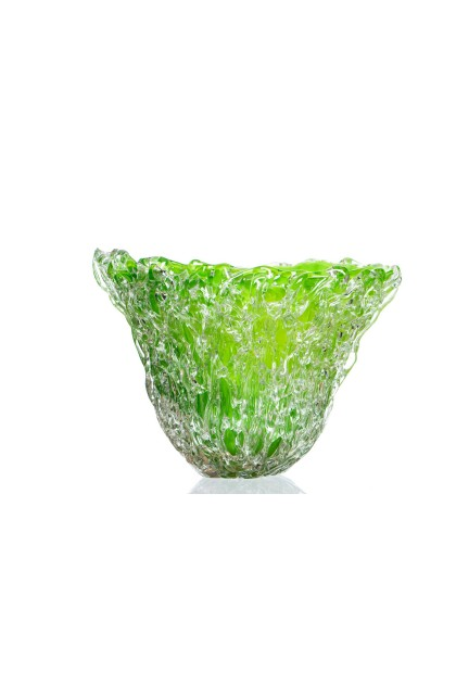 """Frozen Leafbowl"" Vase/Bowl"
