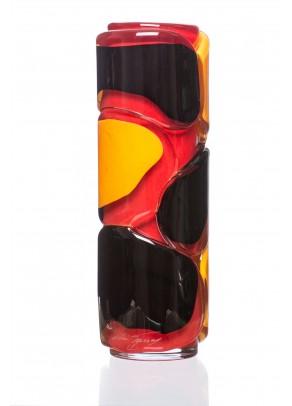 """""""Coral Snake"""" Vase"""