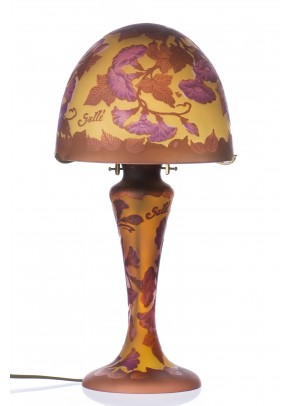 Morning Glory - Table Lamp Galle type
