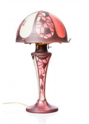 Stained Glass Table Lamp - Daum Nancy type