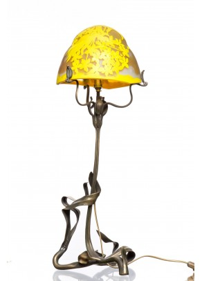 Table lamp galle type Preening Blossom