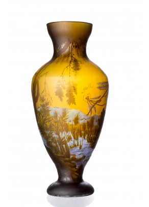 Water Dragonfly Vase - Galle type