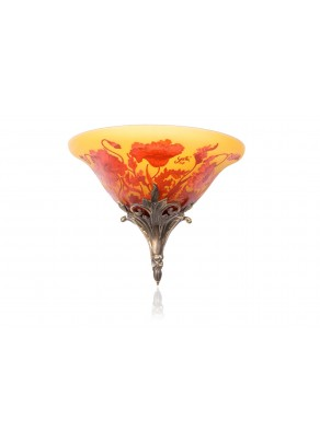 Royal Poppies Wall lamp - Galle type