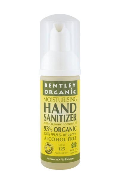 Dezinfectant bio pentru maini cu lamaie