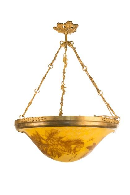 """Candelabru """"Golden Harvest"""" tip Galle"""