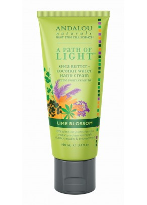 Lime Blossom Hand Cream (with Organic Fruit Stem Cells)