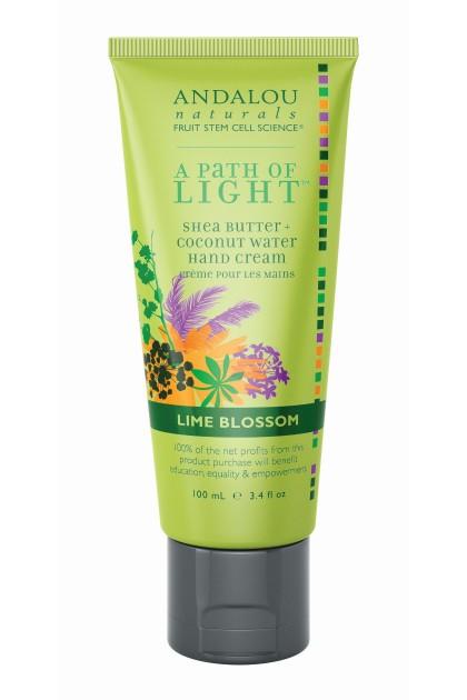 Organic Lime Blossom Hand Cream