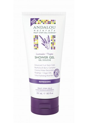 Lavender Thyme Refreshing Shower Gel (with Organic Fruit Stem Cells)