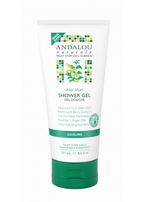 Aloe Mint Cooling Shower Gel (with Organic Fruit Stem Cells)