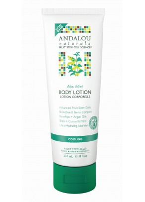 Aloe Mint Cooling Body Lotion (with Organic Fruit Stem Cells)