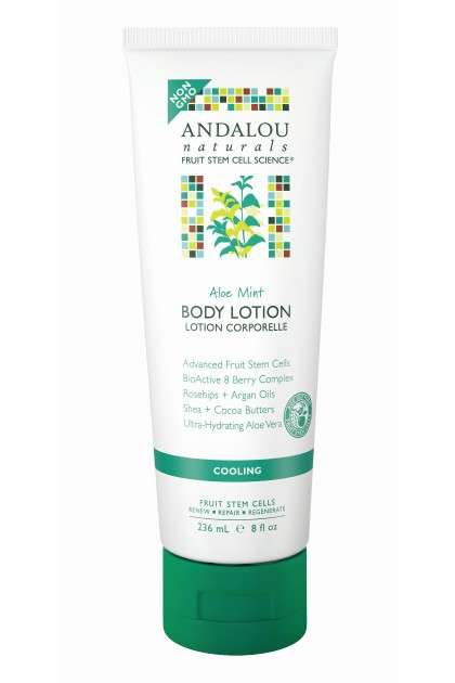 Aloe Mint Cooling Organic Body Lotion