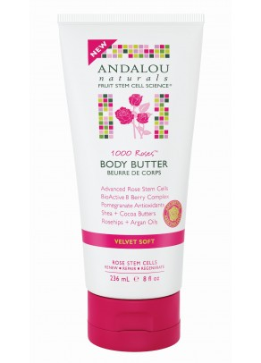 1000 Roses Velvet Soft Body Butter (with Organic Fruit Stem Cells)