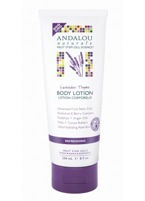 Lavender Thyme Refreshing Body Lotion (with Organic Fruit Stem Cells)