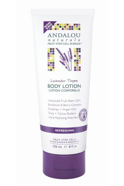 Lavender Thyme Refreshing Organic Body Lotion