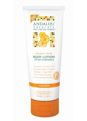 Mandarin Vanilla Vitalizing Body Lotion (with Organic Fruit Stem Cells)