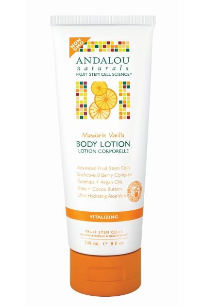 Mandarin Vanilla Vitalizing Organic Body Lotion