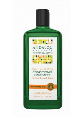 Argan & Sweet Orange Moisture Rich Conditioner (with Organic Fruit Stem Cells)