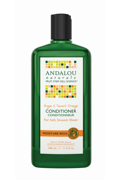 Argan & Sweet Orange Moisture Rich Organic Conditioner
