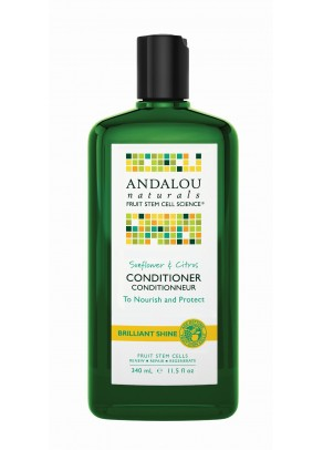 Sunflower & Citrus Brillant Shine Conditioner (with Organic Fruit Stem Cells)