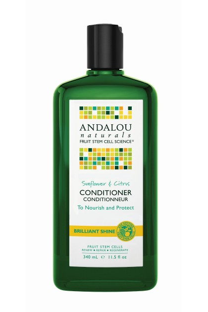 Sunflower & Citrus Brillant Shine Organic Conditioner