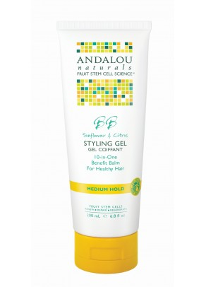 Sunflower & Citrus Medium Hold Styling Gel (with Organic Fruit Stem Cells)