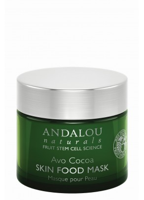 Avo Cocoa Skin Food Mask (with Resveratrol, Coenzyme Q10 and Organic Fruit Stem Cells)