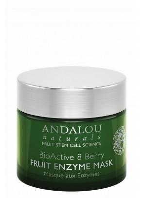 Masca exfolianta cu extracte organice din fructe de padure, resveratrol, coenzima Q10 si celule stem din fructe