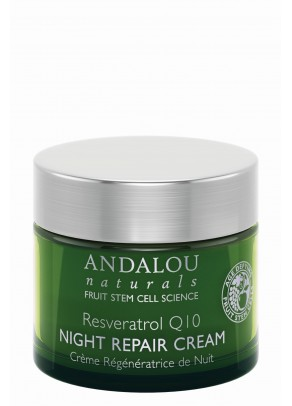 Resveratrol Q10 Night Repair Cream (with Organic Fruit Stem Cells)