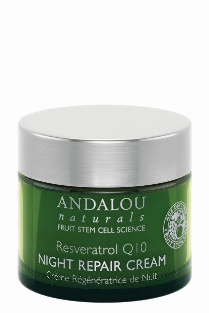 Resveratrol Q10 Night Repair Organic Cream