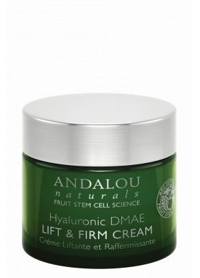 Crema pentru lifting cu extracte organice de argan si shea, acid hialuronic, resveratrol, coenzima Q10 si celule stem din fructe