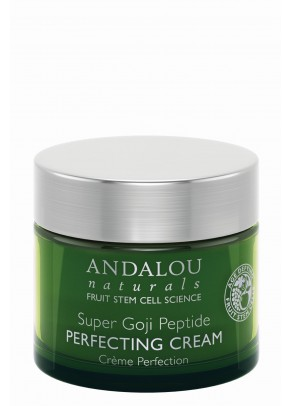 Super Goji Peptide Perfecting Cream (with Resveratrol, Coenzyme Q10 and Organic Fruit Stem Cells)