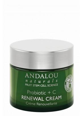 Probiotic + C Renewal Cream (with Manuka Honey and Organic Fruit Stem Cells)