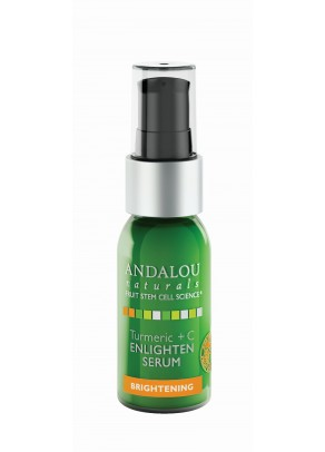 Turmeric + C Enlighten Serum (with Hyaluronic Acid and Organic Fruit Stem Cells)