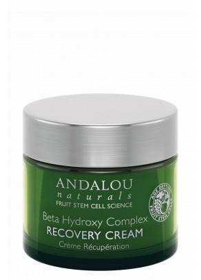 Crema regeneranta cu extracte organice de scoarță de salcie, hamamelis, acid salicilic si celule stem din fructe