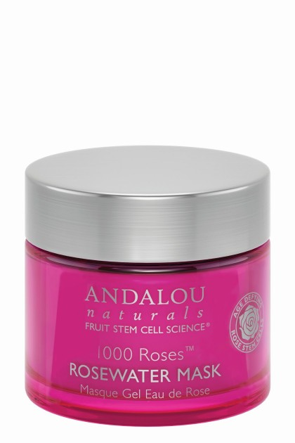 Revitalizing Mask With Organic Rosewater From Andalou Naturals