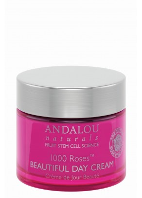 1000 Roses Beautiful Day Cream (with Hyaluronic Acid and Organic Fruit Stem Cells)