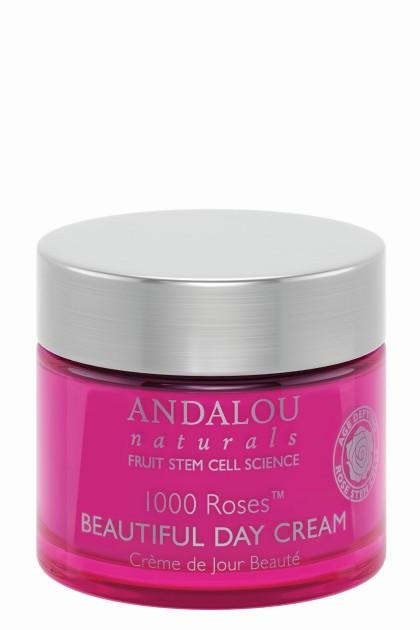 Crema de zi bio cu celule stem de trandafir, ulei de rodie si acid hyaluronic