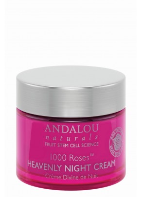1000 Roses Heavenly Night Cream (with Hyaluronic Acid and Organic Fruit Stem Cells)
