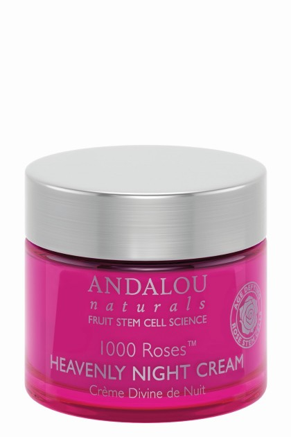 Crema de seara bio cu celule stem de trandafir, esente de macese si rodie, extract de scoarta de magnolie