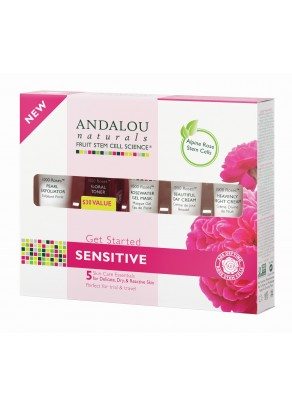 Set cadou cosmetice 1000 Roses cu extracte organice si celule stem din fructe
