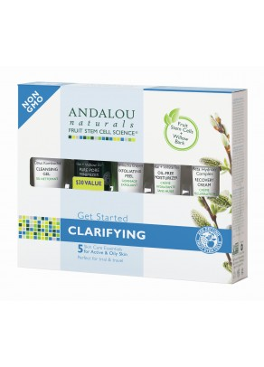 Clarifying Cosmetics Gift Set (with Organic Fruit Stem Cells)